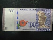 Malaysia 2011 RM $ 100 RM100 Ringgit UNC Note Banknote P 55 - Error Found