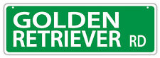 Plastic Street Signs: GOLDEN RETRIEVER ROAD | Dogs, Gifts, Decorations