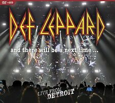 And There Will Be A Next Time...Live From Detroit DVD + 2 CD Def Leppard New