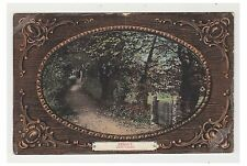 Jersey postcard - Swiss Valley - Embossed - RP