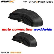 "RFX RACE SERIES FRONT & REAR MX INNER TUBES 19"" + 21"" HONDA CRF250/450 CR125/250"