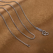 18INCH Platinum 999 Necklace Special Cable Link Chain /Stamp: Pt999 1.8-2.0g