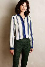 New Anthropologie Art House Buttondown Sz 14 Size Large NIP Top by Maeve