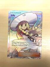 Pokemon Trainer Lilly (Sun Moon) FULL ART Sonne und Mond 147/149, deutsch!