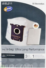 EL211 Electrolux Ultra Long Performance Vacuum S-Bags UltraOne Canister