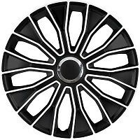 "16"" FORD TRANSIT LWB VOLTEC B/W WHEEL TRIMS SET OF 4 FREE P&P"