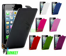 CUSTODIA CASE FLIP COVER PER APPLE IPHONE 5 5S PELLE LIBRO MAGNETICA