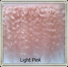 "Mohair Weft  LIGHT PINK,  5"" - 6"" X 36"""