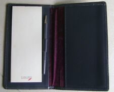 Concorde Grey Leather Wallet with Notepad/Pencil
