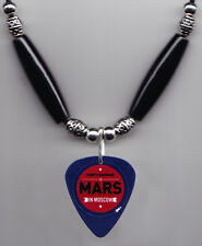 30 Seconds to Mars Moscow Guitar Pick Necklace 30STM