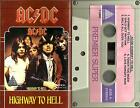 AC/DC, rare imported cassette- Highway To Hell
