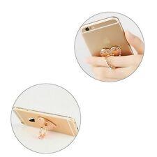 Rose Gold Pop Socket Crystal Ring. Metal Phone IPhone grip holder. FREE P&P.