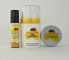 Emu Oil Well Kit De Viaje - Mini Natural Primeros Auxilios Pack