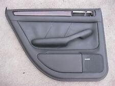LEDER Türverkleidung hinten links Audi A6 4B Verkleidung dunkel grau  SCH