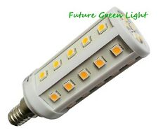 E14 SES 35 SMD LED 240V 6.5W 500LM WARM WHITE CORN BULB ~60W