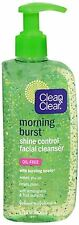 CLEAN - CLEAR Morning Burst Shine Control Facial Cleanser Oil-Free 8 oz