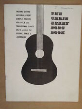 La CHITARRA Chris BERRY SONG BOOK