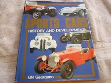 Sports Cars History and Development GN Georgano 1987