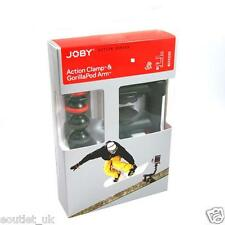 Genuine Joby Action Clamp & GorillaPod Arm for Action Cameras GoPro - Black/Red