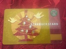 STARBUCKS Gift Card Holiday Glow Christmas 2008 XMAS - FREE SHIPPING