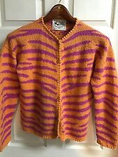 BEAUTIFUL Planet Earth Imports Sweater Cardigan Jacket Size 2 Button Front PERU