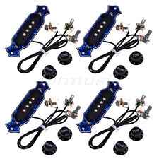 4* Exquisite Pre-wired Pickup 4 String Electric Box Acoustic Guitar Pickup