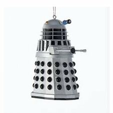 "Doctor Who Silver Dalek Christmas Tree Bauble/Ornament/Decoration 3.5"" tall NEW"
