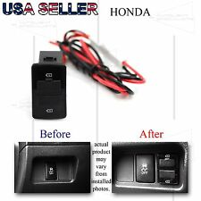 FOR HONDA CIVIC/ACCORD DUAL DC POWER USB ADAPTER DIRECT FIT AFTERMARKT CHARGER