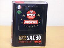 7,70€/l Motul Classic Motor Oil SAE 30  2 ltr