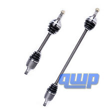 2 New Front L&R CV Axles Fits 90-93 Honda Accord Automatic Transmission Only