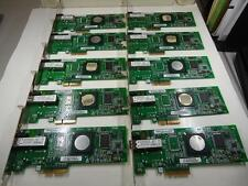 Qlogic QLE2460 PCI-e 4X 4Gbps Fibre Channel HBA Controller Card Lot of 10