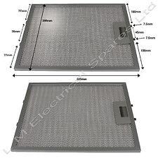 2 x 320 x 260 mm métal Four, Cuisinière Hotte Hotte aspirante vent filtres pour Zanussi