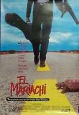 El mariachi Original 1992 Single Sided Movie Poster Carlos Gallardo   Rodriguez