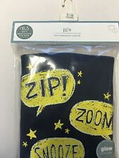 Gap Baby Glow in the Dark PJ's 6-12 MONTHS short sleeved/shorts