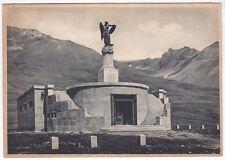 80275 TRENTO PASSO DEL TONALE - MONUMENTO ai CADUTI Cartolina viaggiata 1951