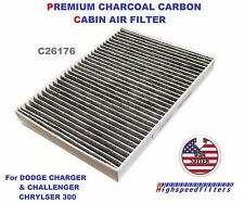 C26176 24048 CHARCOAL Cabin Air Filter For Dodge Charger Challenger Chrysler 300