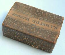 Antique Box Joseph Gillott's Medium 293 Points Public Pen 33 Nibs 294 292 Magnum
