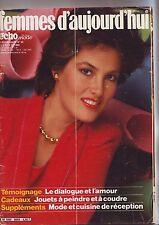 femmes d'aujourd'hui - echo de la mode decembre 1980 / numero 50