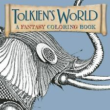 Tolkien's World : A Fantasy Coloring Book (2015, Paperback)