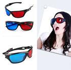 3D Plastic JT11 Vision Glasses Dimensional Anaglyph Framed Plasma TV Movie