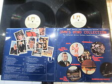 THE JAMES BOND COLLECTION 1972 10th ANNIVERSARY 2 x LP SET W/ BOOKLET EX COND