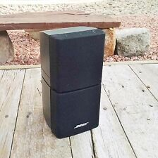 1 Bose Double Cube Speaker Lifestyle Acoustimass Good Condition