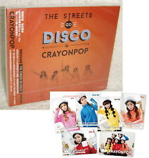 Crayon Pop Mini Album The Streets Go Disco 2013 Taiwan CD+ 6 Cards (Crayonpop)
