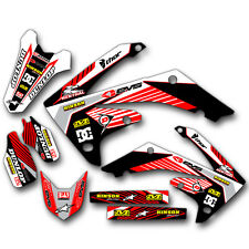 2005 2006 2007 2008 HONDA CRF 450R GRAPHICS KIT MOTOCROSS CRF450R DECALS MX DECA