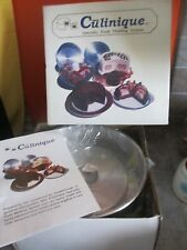 Unused CULINIQUE Specialty Food Molding System Cake Pan in Box