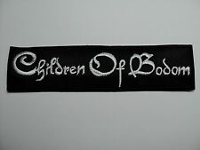CHILDREN OF BODOM   LOGO  EMBROIDERED PATCH