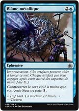 MTG Magic AER - (x4) Metallic Rebuke/Blâme métallique, French/VF