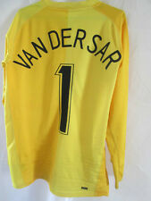 Manchester United Van Der Sar 2006-2007 Goalkeeper Football Shirt Small /34820