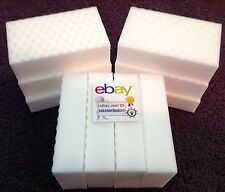 "10 PACK Magic Sponge Eraser Heavy Duty Extra Durable Power Pro 1"" Thick Foam"