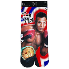 Odd Sox Men's Mike Tyson The Champ (Official) Socks Black cool dope boxing new